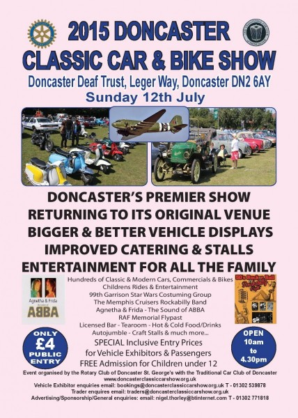 Doncaster Classic Car & Bike Show @ Doncaster deaf school | Doncaster | United Kingdom